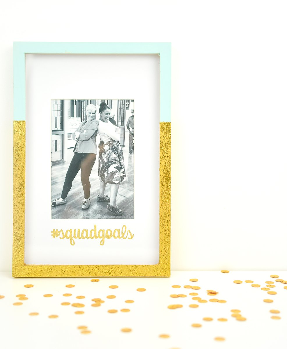Reassemble the frame and add your photo.