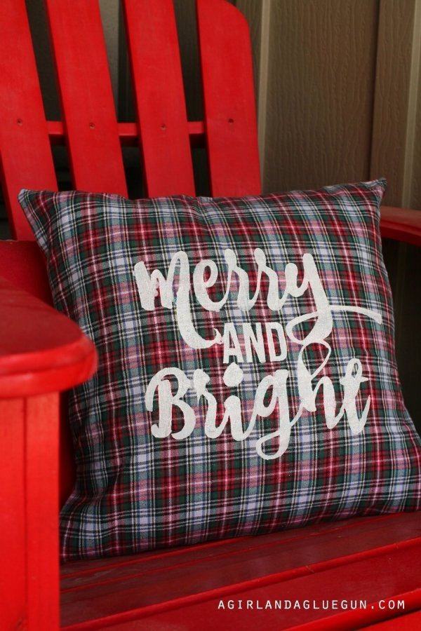 Create a pillow from a flannel shirt at  agirlandagluegun.com
