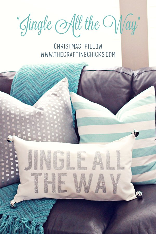 Jingle pillow from  Crafting Chicks