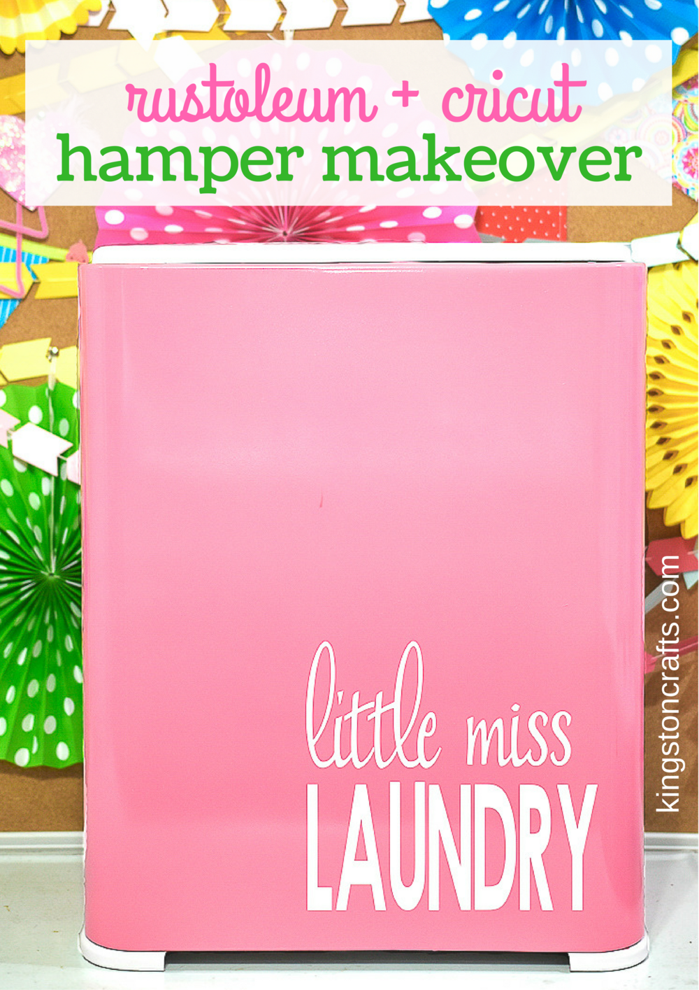 Little Miss Laundry Hamper