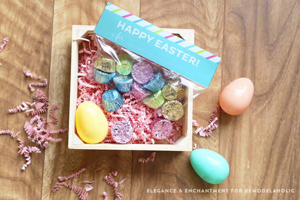 Treat Bag Toppers from Remodelaholic free easter printables
