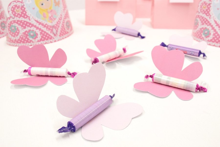 Butterfly Favors from Party Delights free easter printables