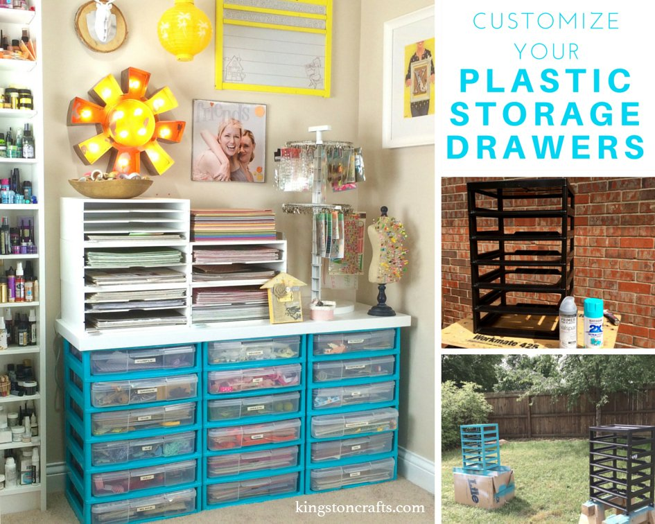 Customized Plastic Storage Drawers