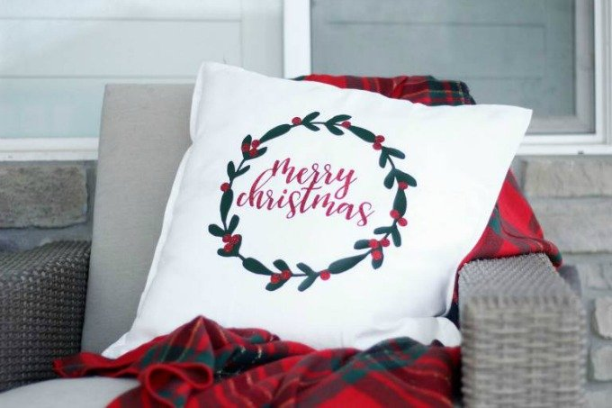 Sugarcoated Housewife wreath pillow