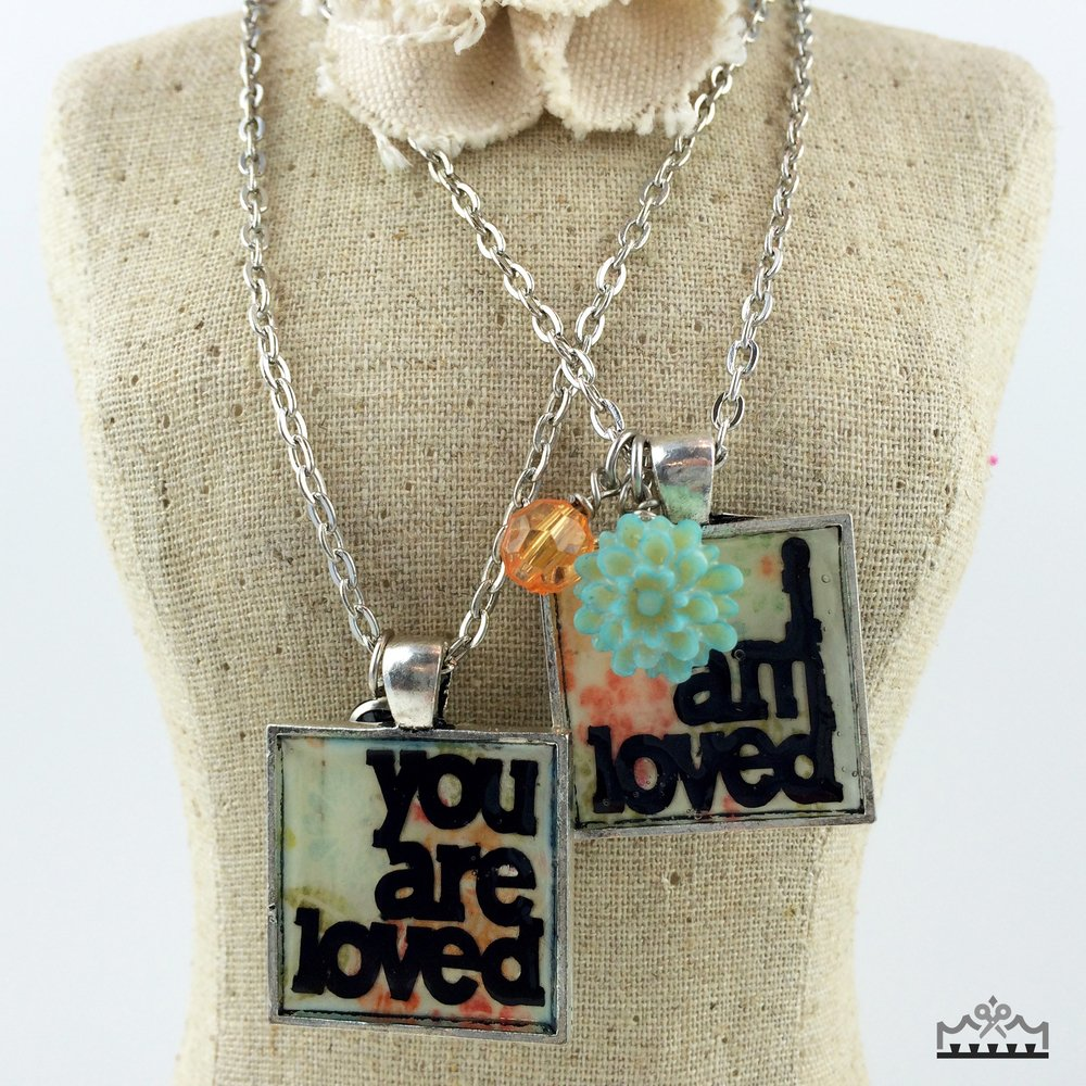 Making Jewelry with Cricut - Loved Charms