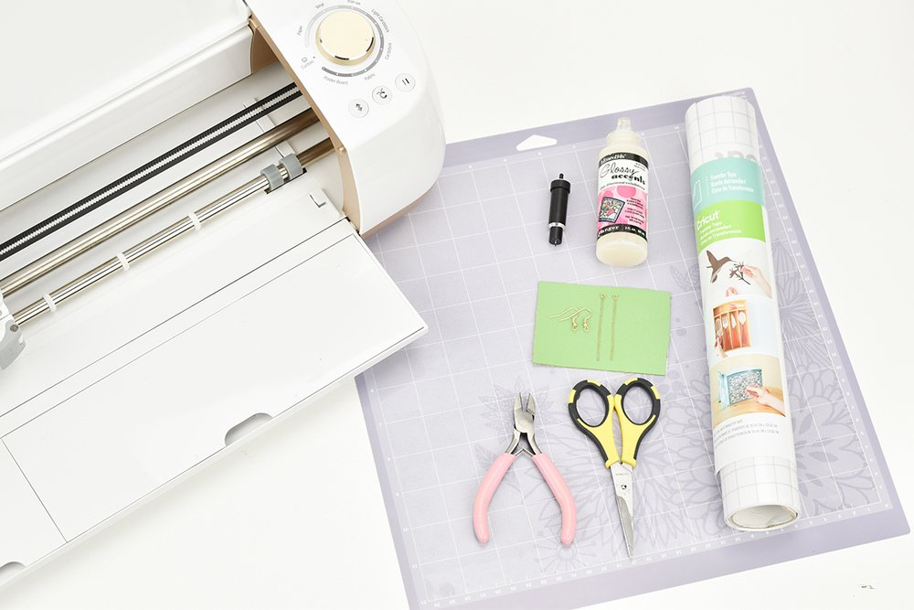 Cut Leather with the New Cricut Explore Air Gold