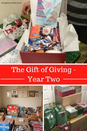 The Gift of Giving - Year Two