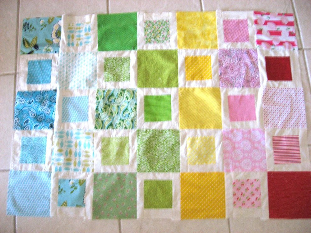 quilt made with cricut