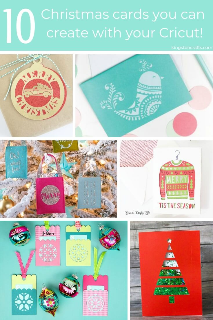 10 Homemade Christmas Cards You Can Create With Cricut