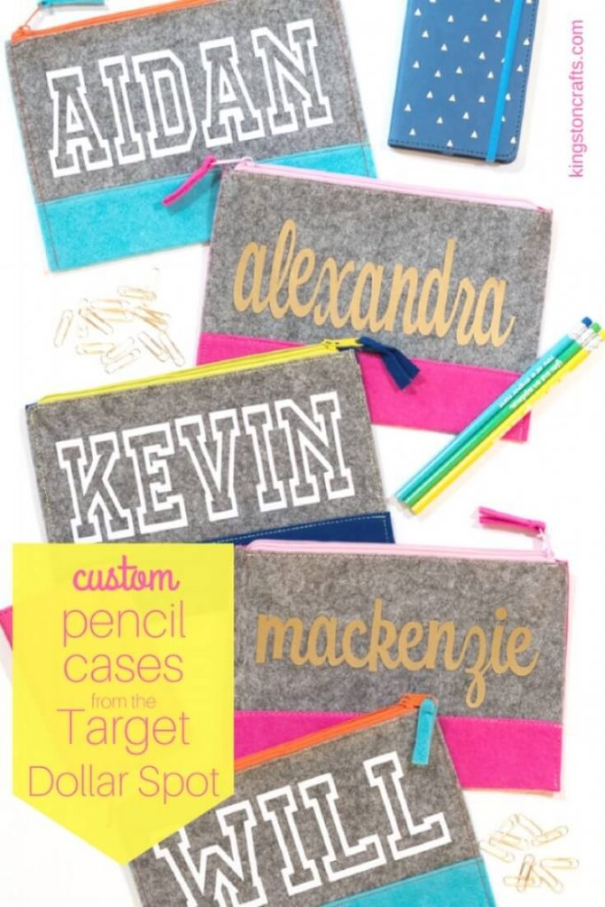 Custom Pencil Cases for Girls and Boys - Kingston Crafts