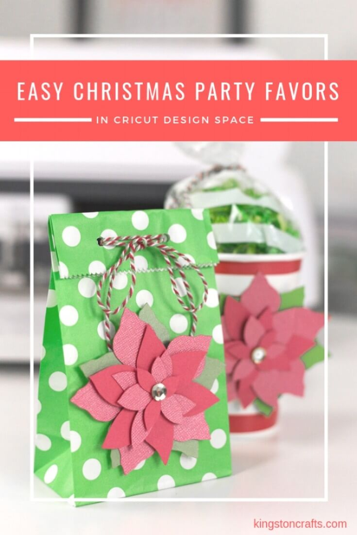 Easy Christmas Party Favors in Cricut Design Space - Kingston Crafts