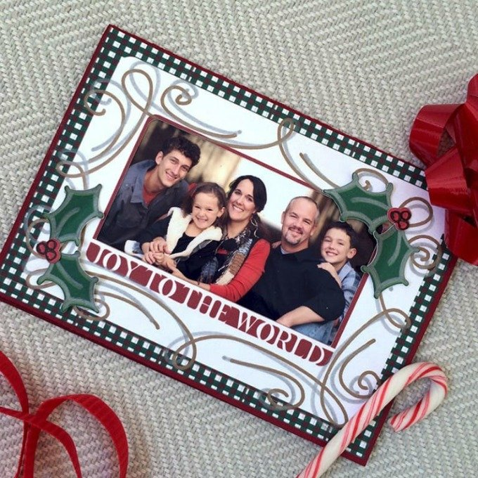 100 Directions photo Christmas card