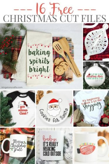 Free SVG Files for Christmas - Kingston Crafts