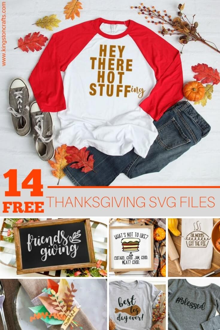 Free SVG Files for Thanksgiving - Kingston Crafts