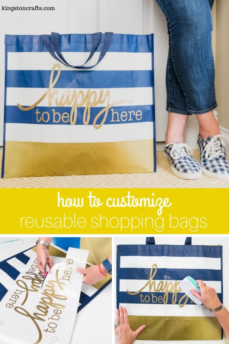How to Customize Reusable Shopping Bags - Kingston Crafts