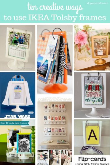 IKEA Hack – Ten Creative Ways to Use A Tolsby Frame - Kingston Crafts