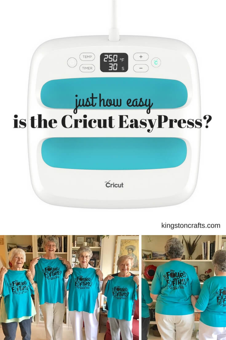 Just How Easy is the Cricut EasyPress - Kingston Crafts