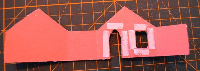 Melissa Frances Chipboard Houses Tutorial - 16 - Kingston Crafts