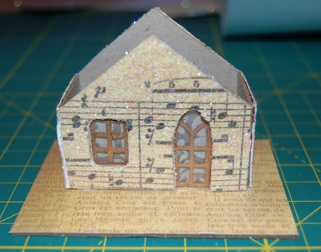 Melissa Frances Chipboard Houses Tutorial - 23 - Kingston Crafts
