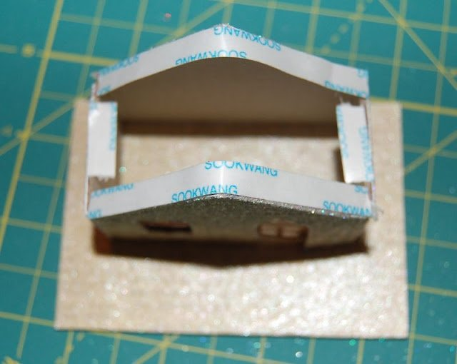 Melissa Frances Chipboard Houses Tutorial - 24 - Kingston Crafts