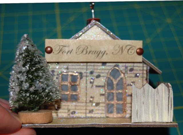 Melissa Frances Chipboard Houses Tutorial - 32 - Kingston Crafts