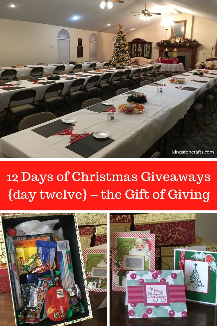 Christmas Giveaways 2019.12 Days Of Christmas Giveaways The Gift Of