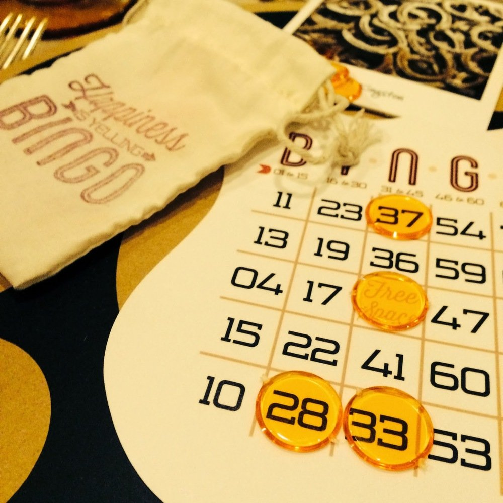 bingo game cricut