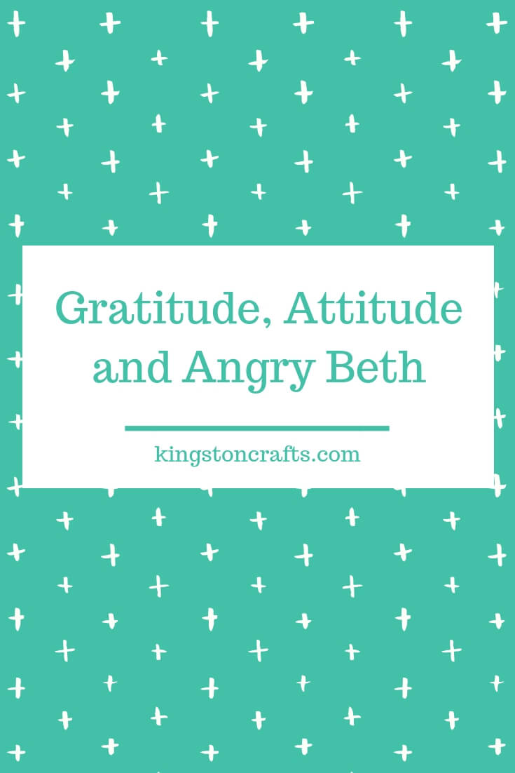 Veterans Day: Gratitude, Attitude and Angry Beth - Kingston Crafts