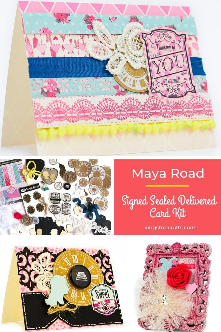 Maya Road Signed Sealed Delivered Kit - Kingston Crafts