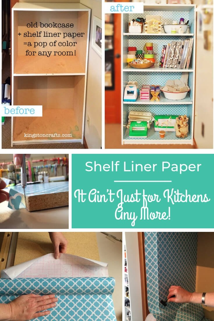 Shelf Liner Paper – It Ain't Just for Kitchens Any More! - Kingston Crafts