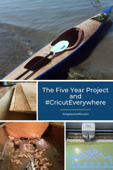 The Five Year Project and #CricutEverywhere - Kingston Crafts