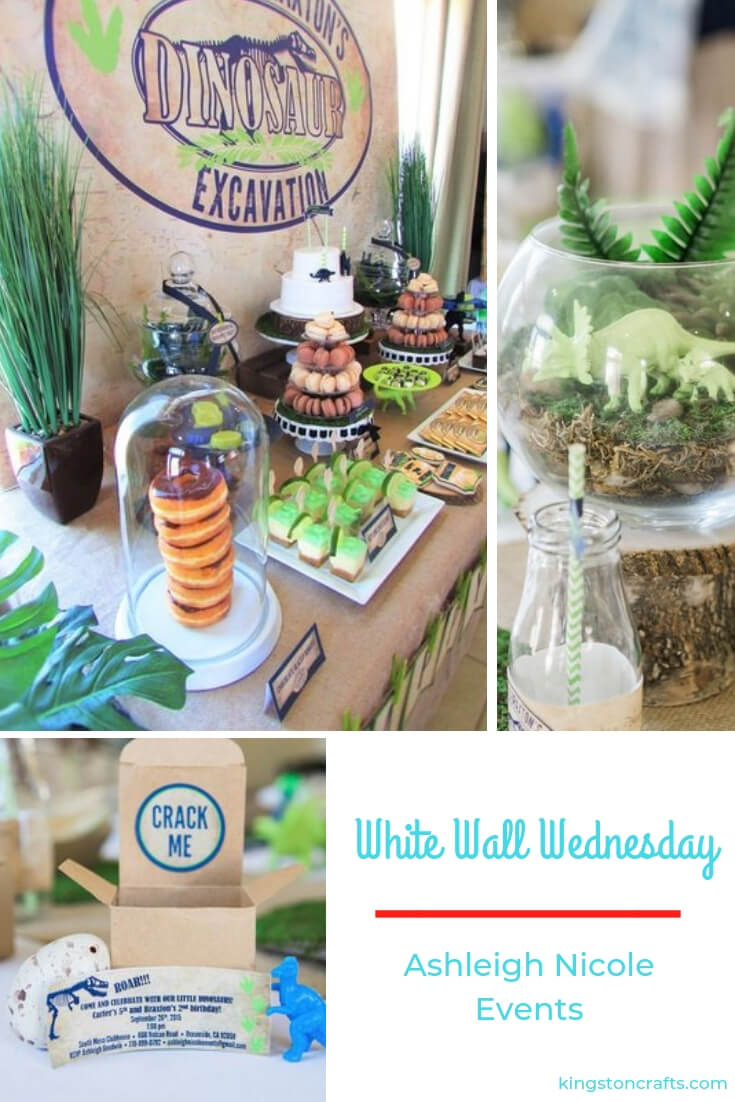 White Walls Wednesday – Ashleigh Nicole Events - Kingston Crafts