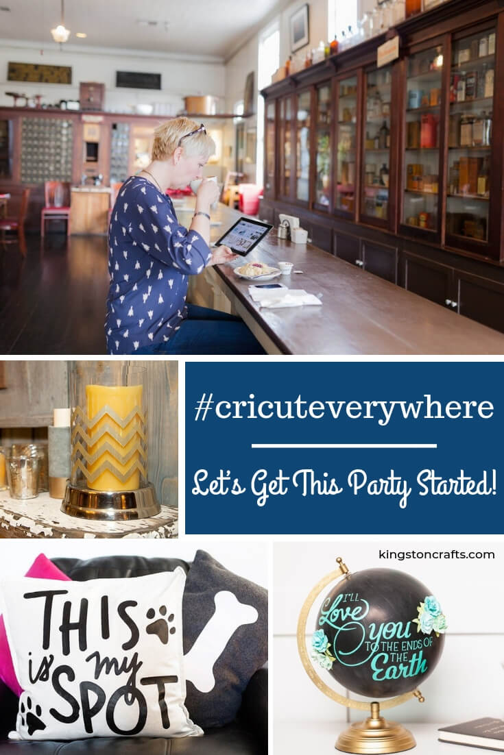 #cricuteverywhere – Let's Get This Party Started! - Kingston Crafts