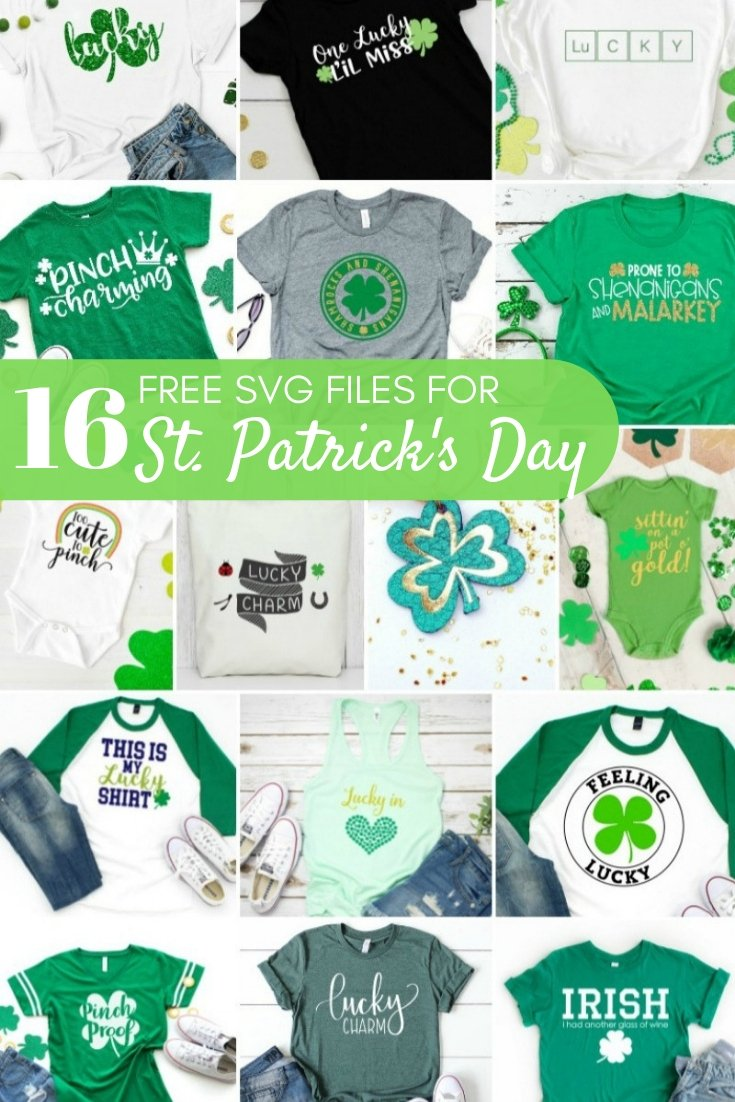 Free SVG Files for St. Patrick's Day