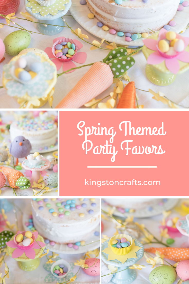 Spring Themed Party Favors