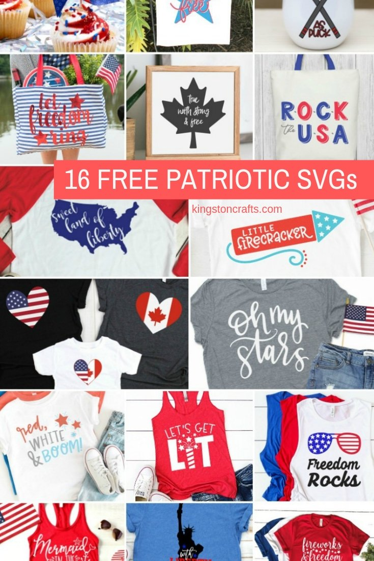 16 Free SVG Files: Patriotic Designs