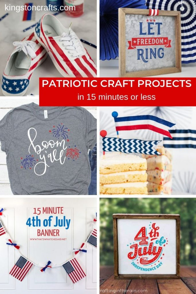 patriotic craft projects collage