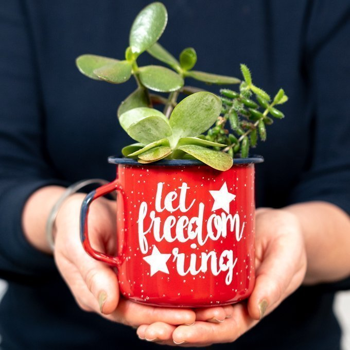 let freedom ring svg red mug