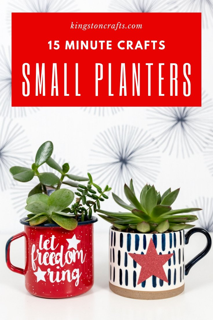 15 Minute Crafts: Small Planters