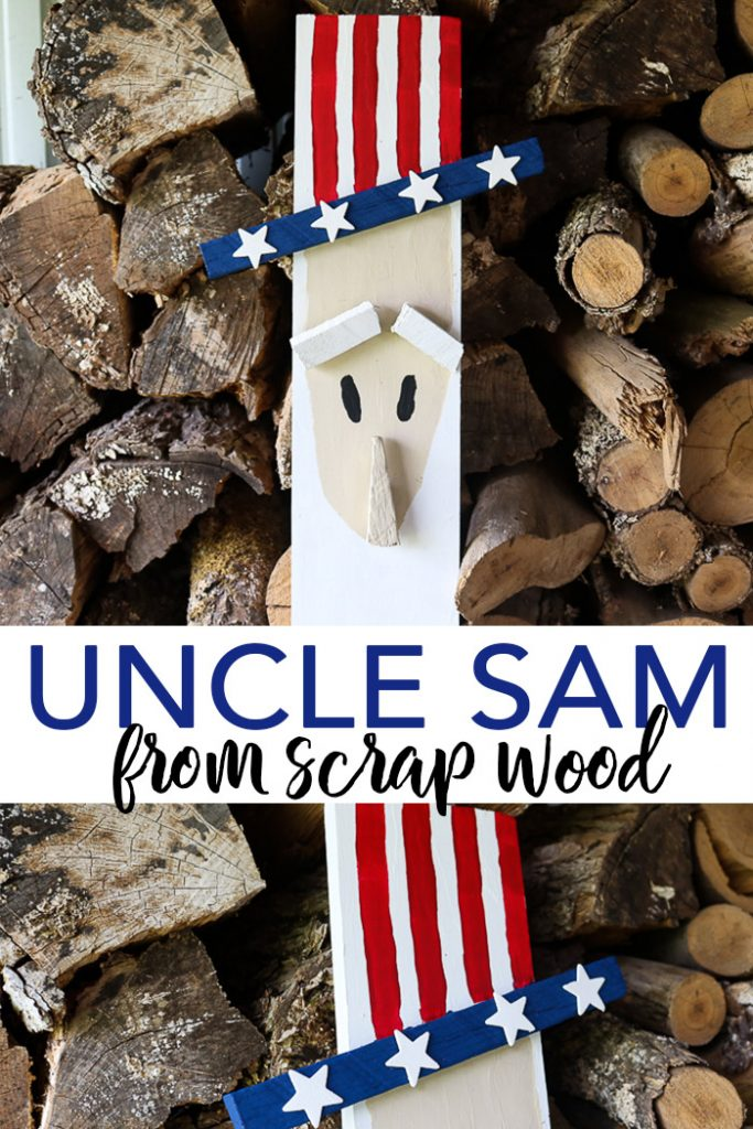 uncle same from scrap wood by The Country Chic Cottage
