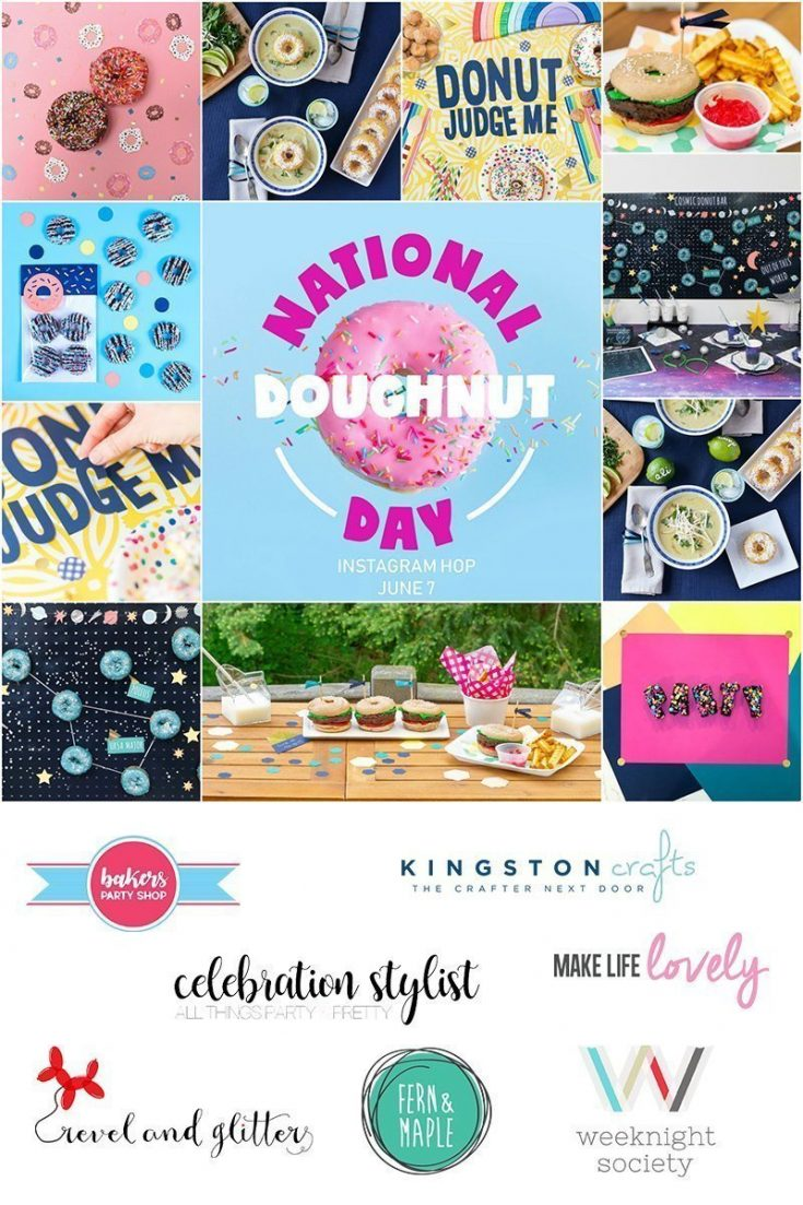 Easy National Doughnut Day Decorations