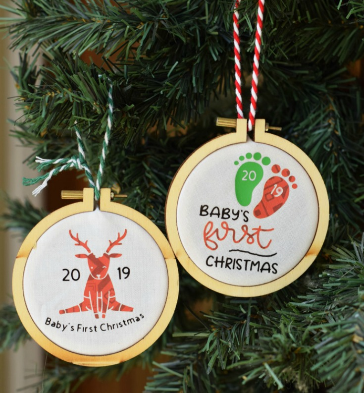 Personalized Baby's First Christmas Ornament