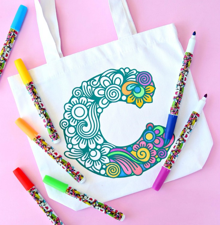 Color Your Own Gift Bags